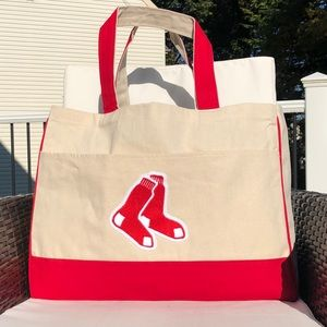 dbe52c7652a Boston Red Sox tote bag with embroidered logo